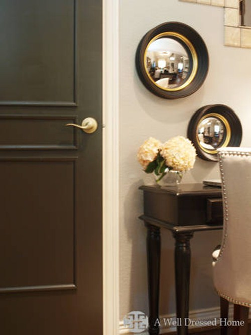 Now This One, This One, Really Got My Inspiration Going. Let Me Tell You  About Emilyu0027s (A Well Dressed Home) Black Doors. I Came Across Her Post  Doing A ...