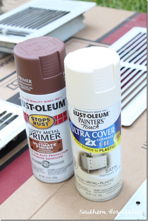 Heirloom White Spray Paint Blog