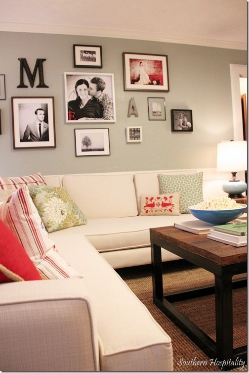 Wall Decor For Behind Couch : Feature friday the lettered cottage makeover house