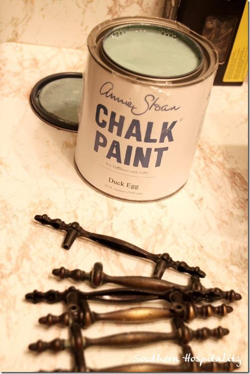 Annie Sloan chalk paint Duck Egg