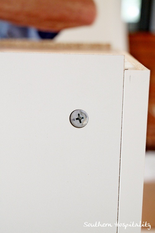 Weeks 16 17 why i chose ikea kitchen cabinets for Cam lock kitchen cabinets