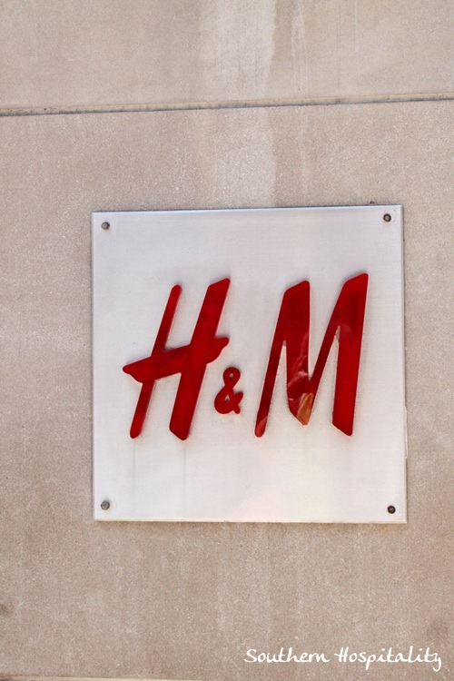 NYC Shopping: H & M and Anthropologie! - Southern Hospitality