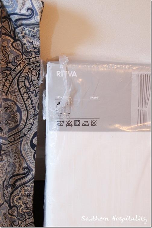 Ikea Ritva drapes