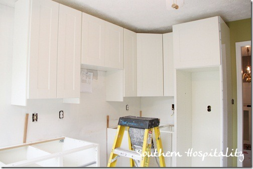 Kitchen Cabinets Up To Ceiling weeks 16 & 17: why i chose ikea kitchen cabinets - southern