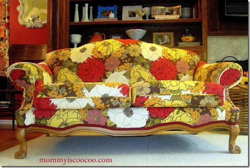 clawfoot loveseat 45