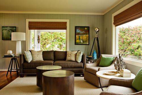 Contemporary Living Room Design By Portland Interior Designer Garrison Hullinger Inc