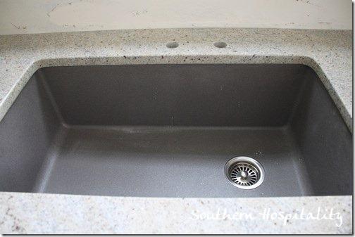 Blanco Grey Sink : Image Name: Blanco Metallic Gray super single sink