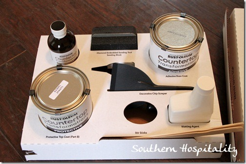 Countertop Transformation kit