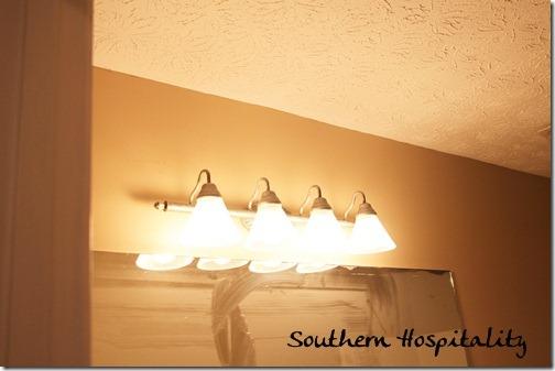 Guest bath light