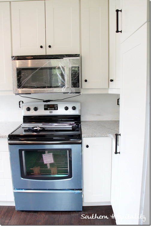 Magtag stove Ikea cabinets