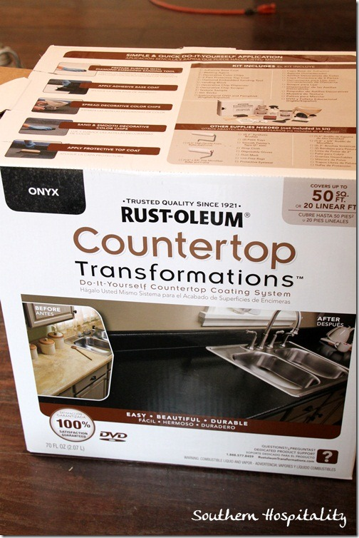 Rustoleum Countertop transformation kit
