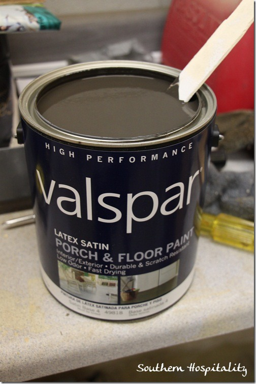 Valspar Porch & Floor paint Fired Earth