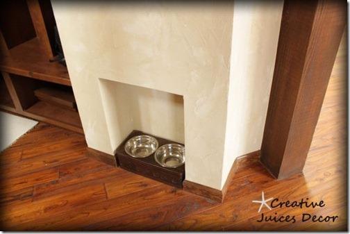 blog rustic tuscan dog bowl hideaway