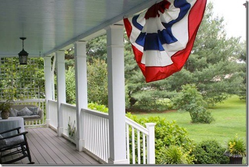 porch patriotic