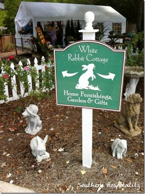 white Rabbit Cottage