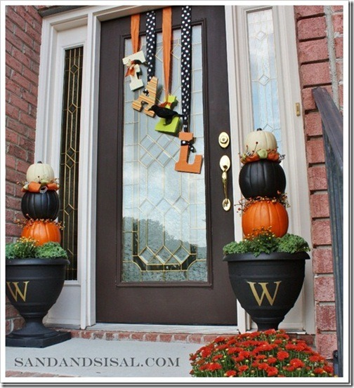 Fall outdoor decorating ideas for Fall patio decorating ideas