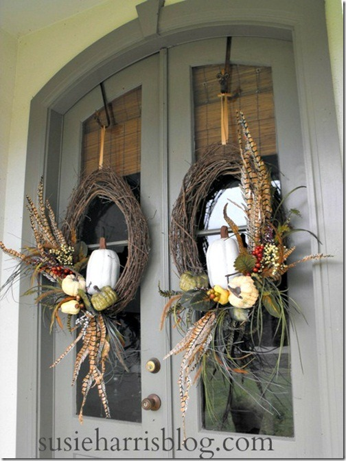 Fall Door Wreath Ideas Part - 33: Fall Wreath DIY 55