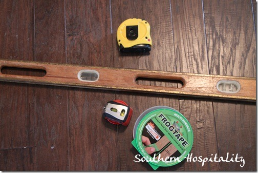Frogtape level tape measure
