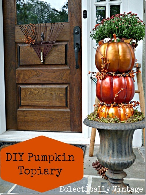 kelly 100 - Fall Outdoor Decorating Ideas