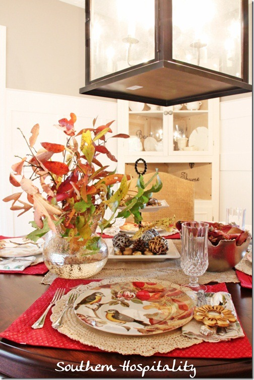 Fall Holiday Table