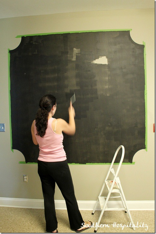 Making A Chalk Board Wall With Frogtape