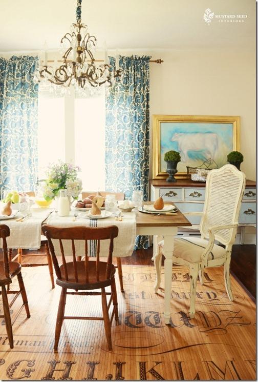 Marian dining room