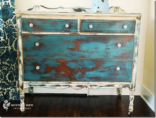 Marian painted chest