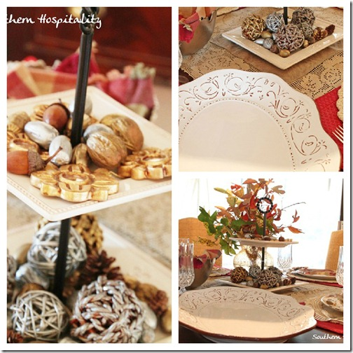 Tablescape collage