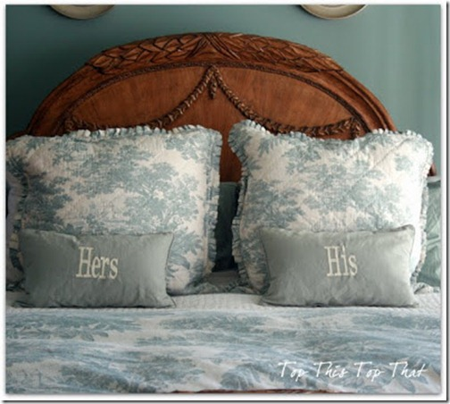 linens master bedroom