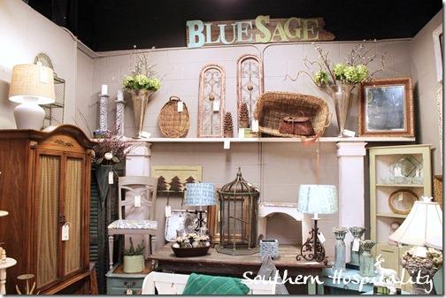 Blue Sage booth