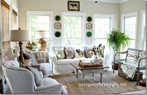 Fall Sunroom