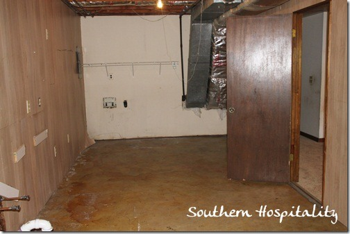 Ohter end of Laundry room before