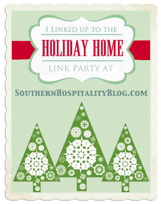 Southern Hospitality Blog Christmas Boxwood and Houndstooth Tablescape