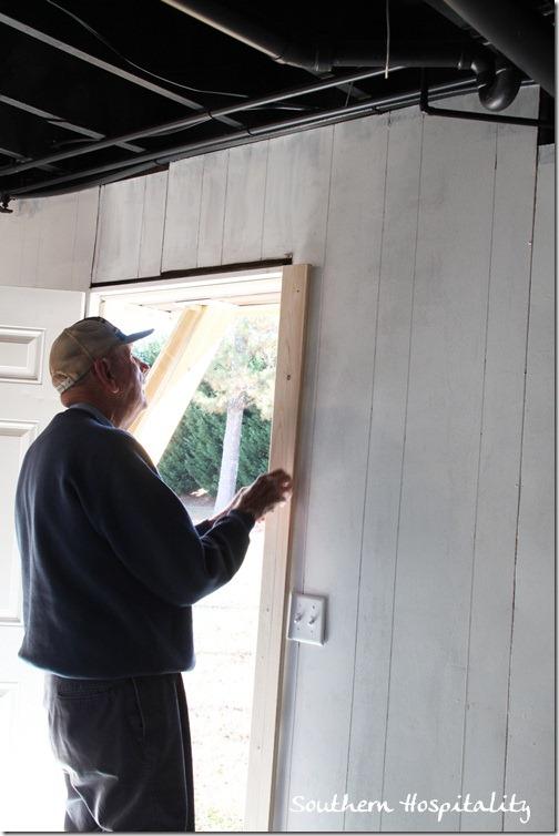 adding door trim
