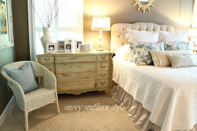 Feature friday savvy southern style southern hospitality for Southern style bedroom