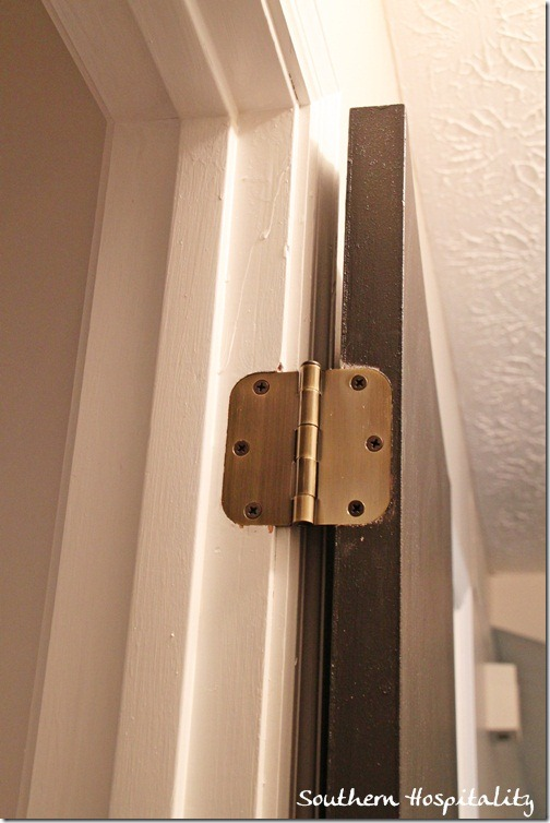 new antique brass hinges