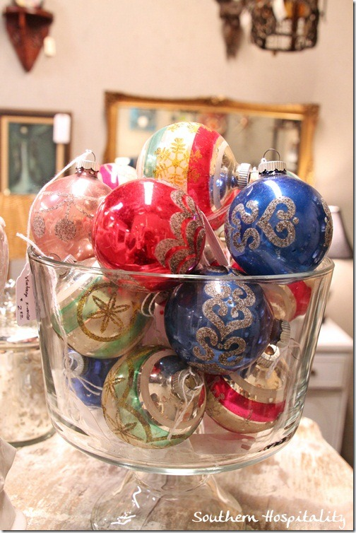 ornaments in glass