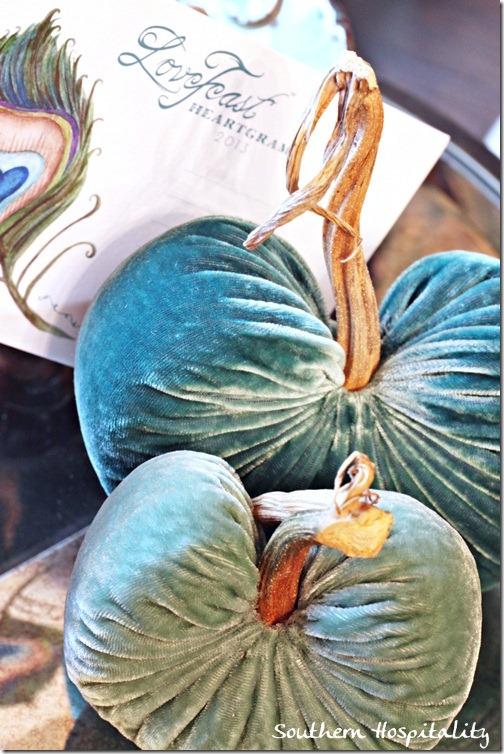Turquoise Lovefeast Valentines