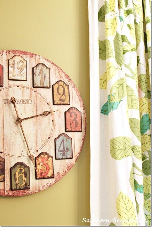 clock drapes