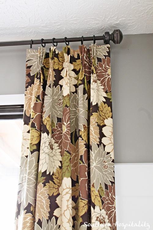 close up drapes