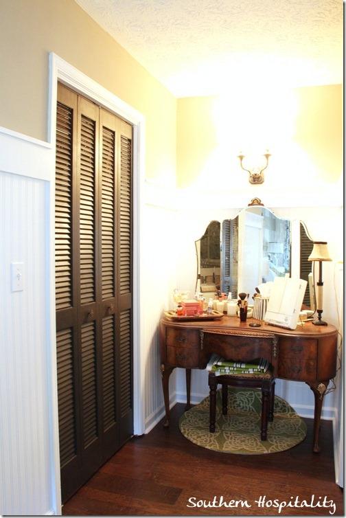 closet and vanity