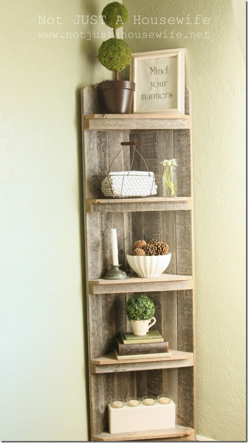 Not just a housewife house tour - Dining room shelves ...