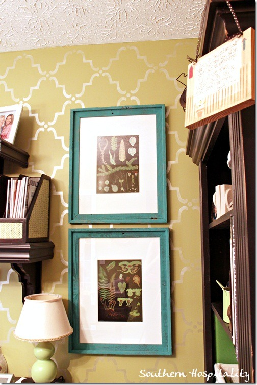 framed botanicals