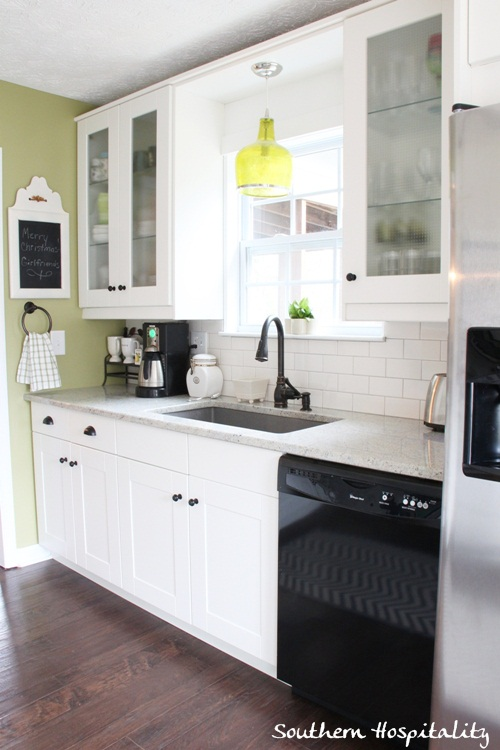 attractive Ikea Kitchen Remodel Before And After #10: Sink ...