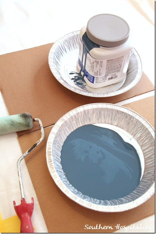 paint and roller