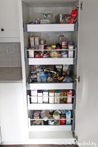 Pantry With Food Southern Hospitality