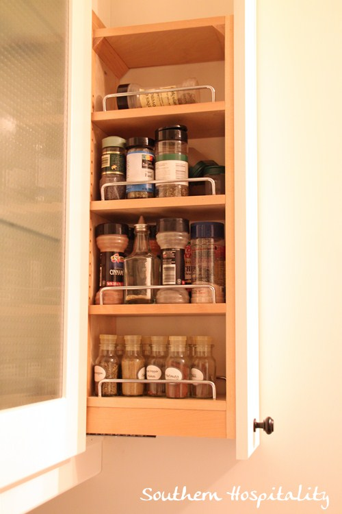 Almost Forgot The Little Spice Cabinet