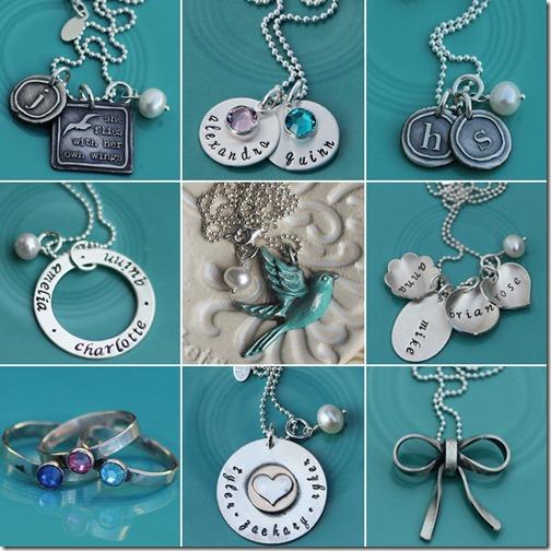 vintage pearl collage