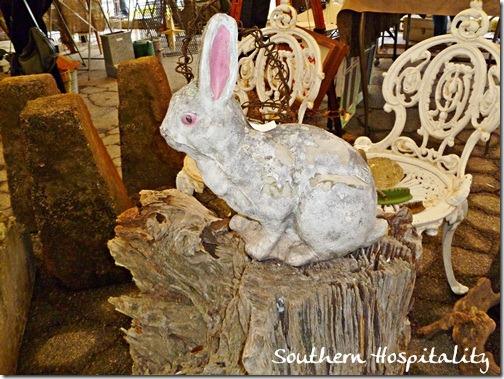 concrete bunny