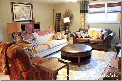 Cozy den decorating ideas iron blog for Den living room designs